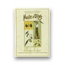 Ambientador Hogar- Mini Sachet HUILE D`OLIVE , Boles D`olor, 10% Descuento
