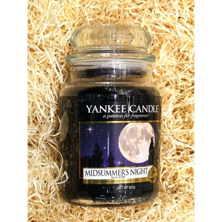 Yankee Candle BOTE GRANDE NOCHES DE VERANO, MIDSUMMER`S-NIGHT