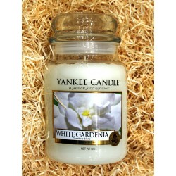 Yankee Candle BOTE GRANDE GARDENIA BLANCA,WHITE-GARDENIA