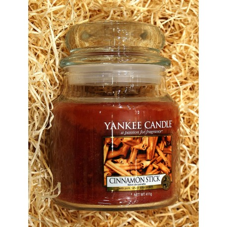 Yankee Candle BOTE MEDIANO CANELA , CINNAMON-STICK