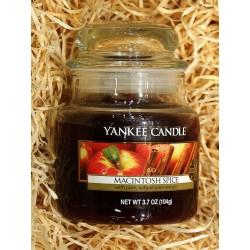 Yankee Candle BOTE PEQUEÑO MANZANA-CANELA , MACINTOSH-SPICE