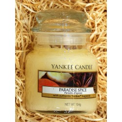 Yankee Candle BOTE PEQUEÑO ESPECIA DEL PARAISO, PARADISE-SPICE