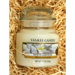 Yankee Candle BOTE PEQUEÑO GARDENIA BLANCA,WHITE-GARDENIA