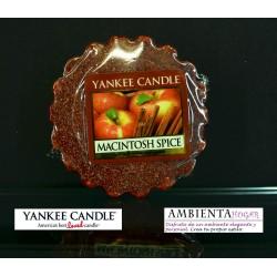 Yankee Candle TARTS, MANZANA-CANELA , MACINTOSH-SPICE