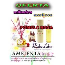 OFERTA MIKADOS FRUTOS EXOTICOS, POMELO ROSA , BOLES D`OLOR