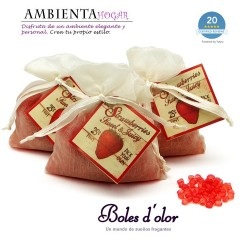 Mini Resinas STRAWBERRIES Boles d`olor