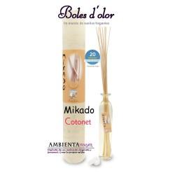 Ambientador , Mikado Cotonet, Boles d`olor.