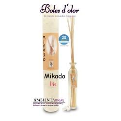 Ambientador Hogar - Mikado Iris, Boles d`olor.