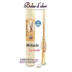 Ambientador Hogar - Mikado Lavanda, Boles d`olor.
