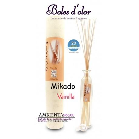 Ambientador - Mikado Vainilla, Boles d`olor.